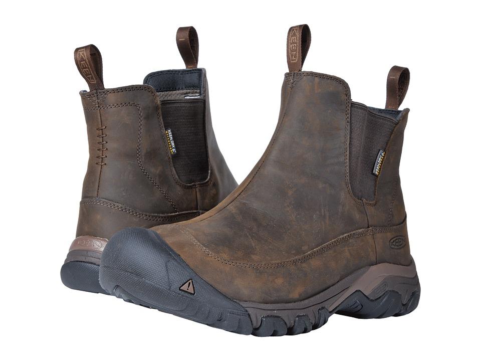 Keen Anchorage Boot III Waterproof (Dark Earth/Mulch) Men