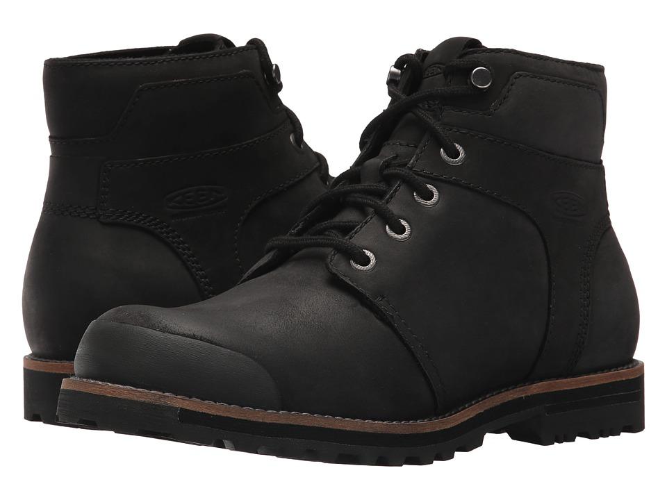 Keen The Rocker Waterproof (Black/Black) Men's Shoes