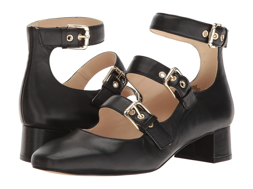 Nine West - Wren (Black Leather) Womens Shoes