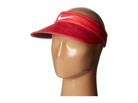 Nike Golf Printed Big Bill Visor - Siren Red/Anthracite/White