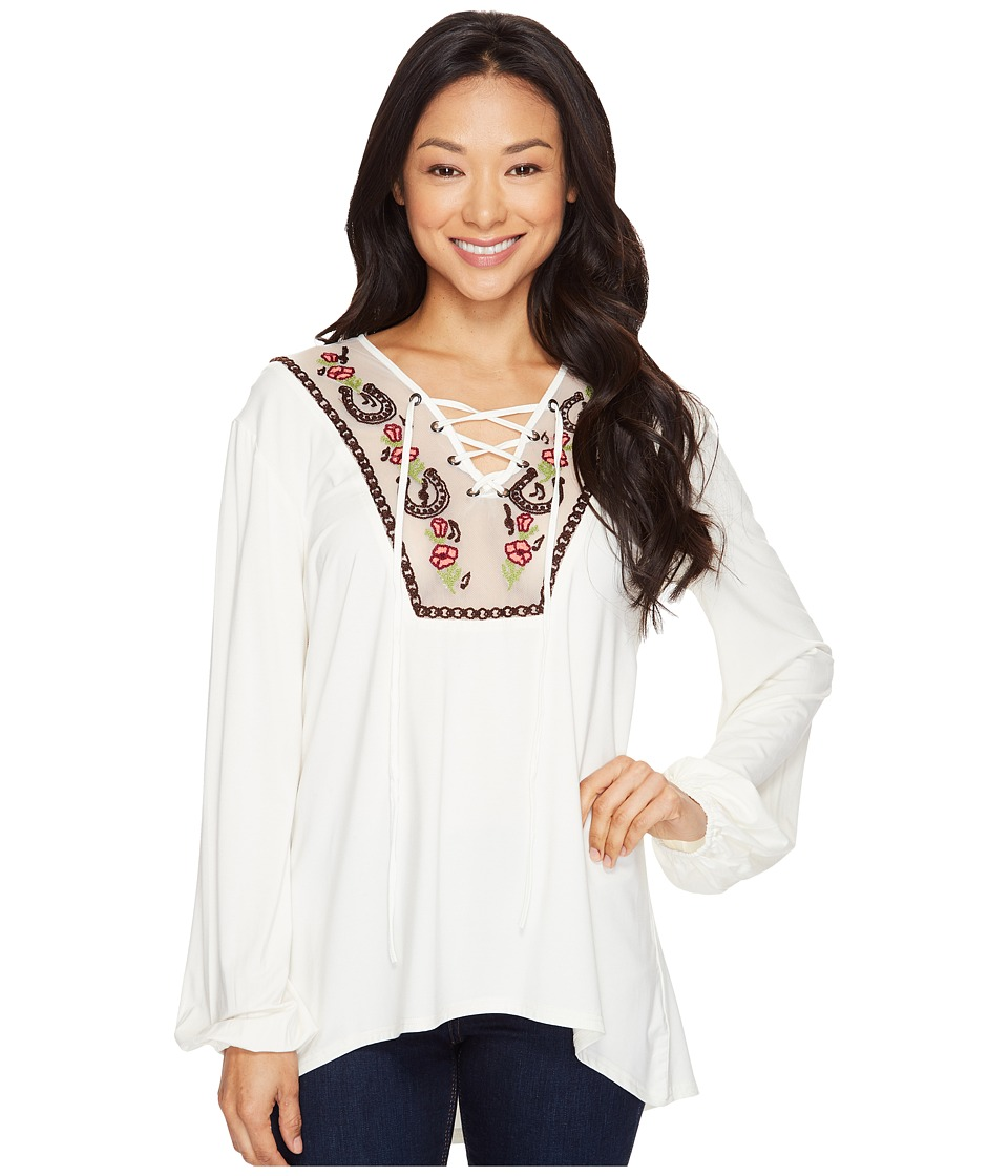 Double D Ranchwear Double D Ranchwear - Melody Maker Peasant Top