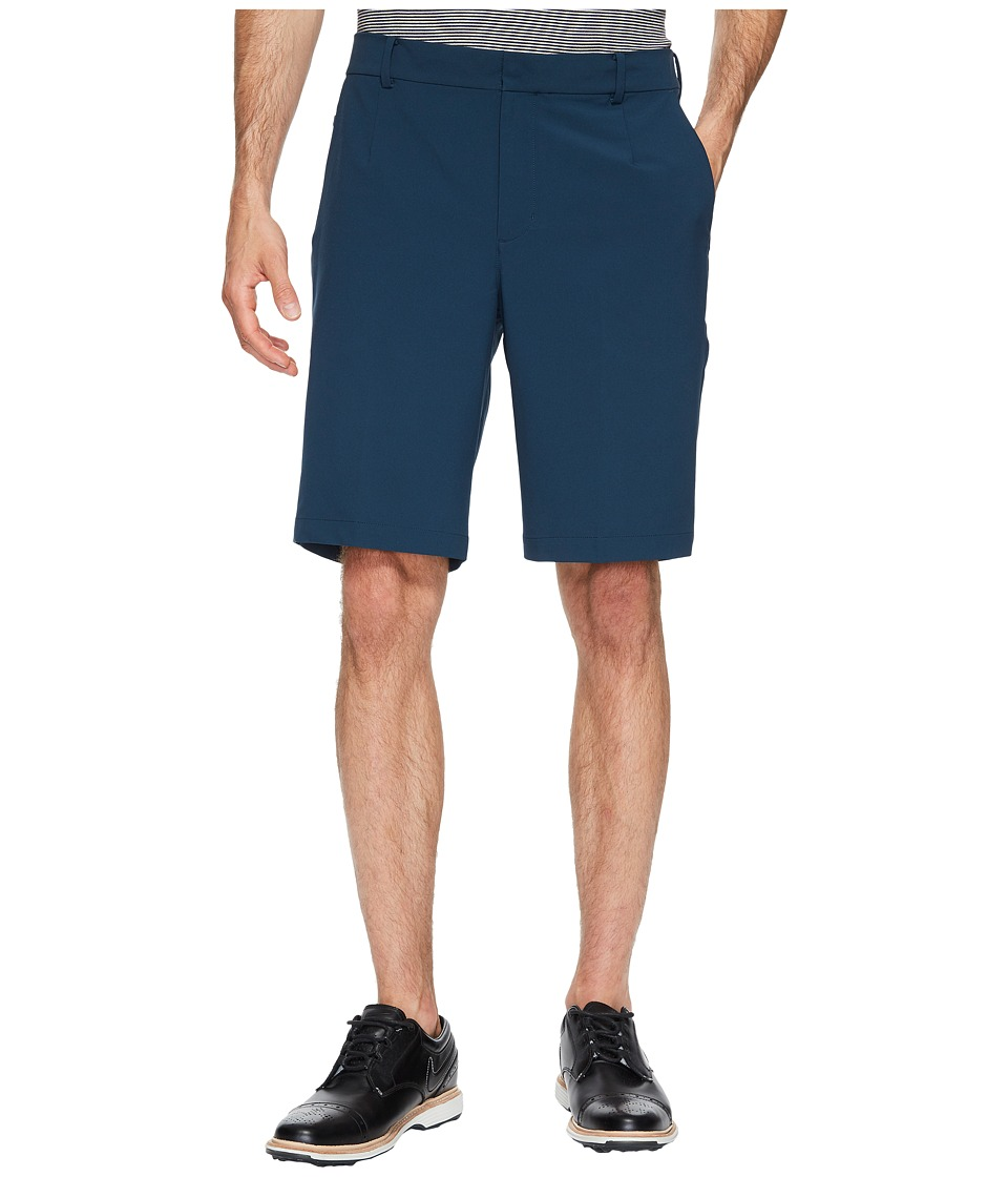 Nike Golf TW Adaptive Fit Woven Shorts (Armory Navy/Flat Silver) Men