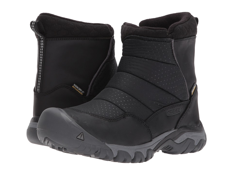 Keen Hoodoo III Low Zip (Black/Magnet) Women's Shoes
