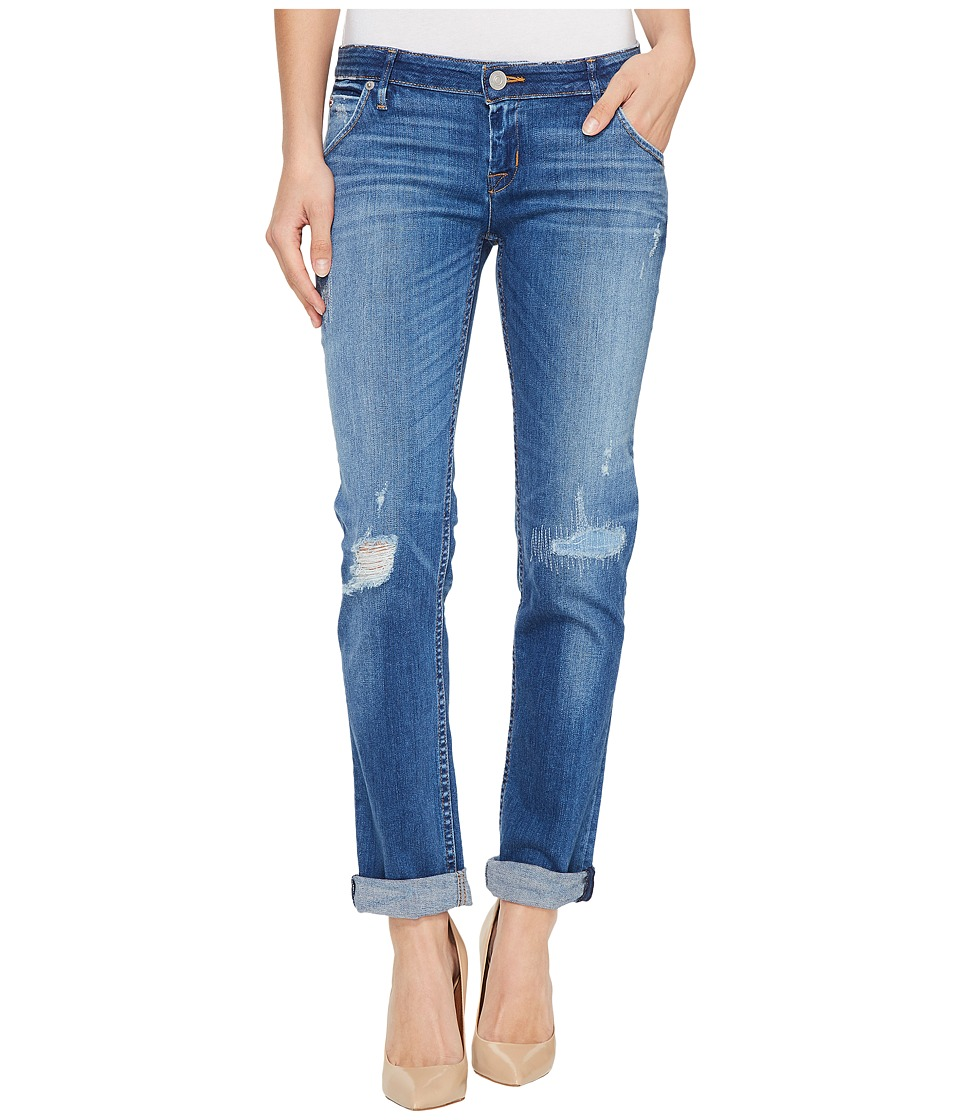 Hudson Jax Boyfriend Skinny Flap Pocket Jeans in Chain Reaction (Chain Reaction) Women