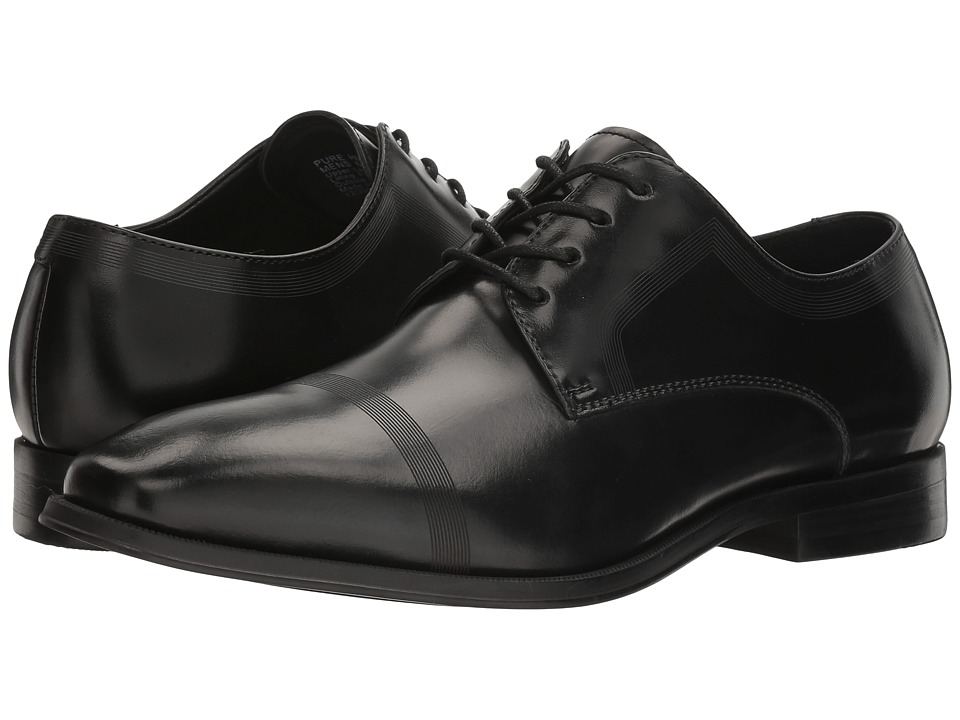 Kenneth Cole Reaction - Pure Hearted (Black) Mens Lace up casual Shoes