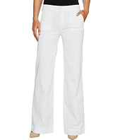 Hudson - Joplin Wide Leg Trousers in White