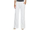 Hudson - Joplin Wide Leg Trousers in White