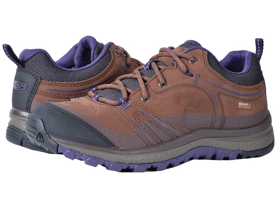 Keen Terradora Leather Waterproof (Scotch/Mulch) Women's Waterproof Boots