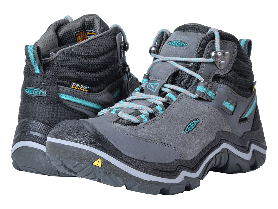 Keen Laurel Mid Waterproof (Steel Grey/Baltic) Women