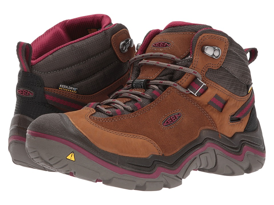 Keen Laurel Mid Waterproof (Monks Robe/Rhododendron) Women