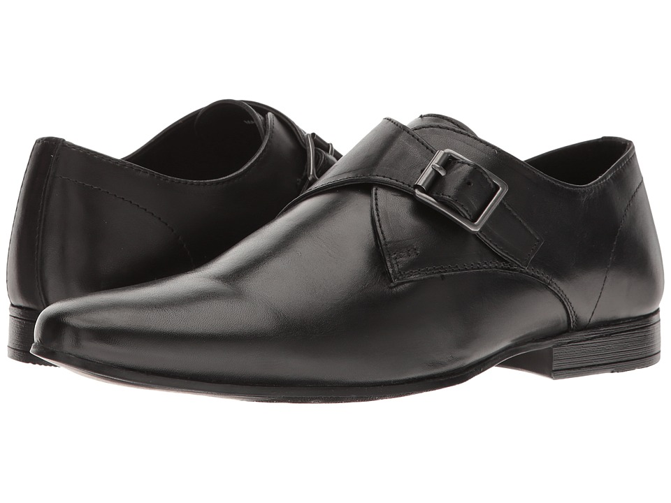 1960s Style Men's Clothing, 70s Men's Fashion Kenneth Cole Reaction - Book Shop Black Mens Slip on  Shoes $79.95 AT vintagedancer.com