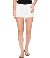 Hudson - Kenzie Cut Off Five-Pocket Shorts in White