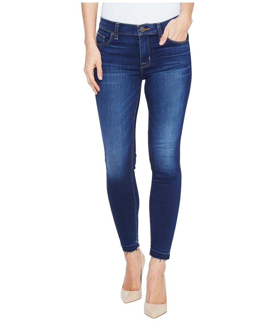 Hudson Nico Mid-Rise Crop Skinny with Released Hem Five-Pocket Jeans in Newcomer (Newcomer) Women