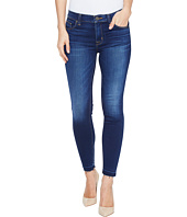 Hudson - Nico Mid-Rise Crop Skinny with Released Hem Five-Pocket Jeans in Newcomer