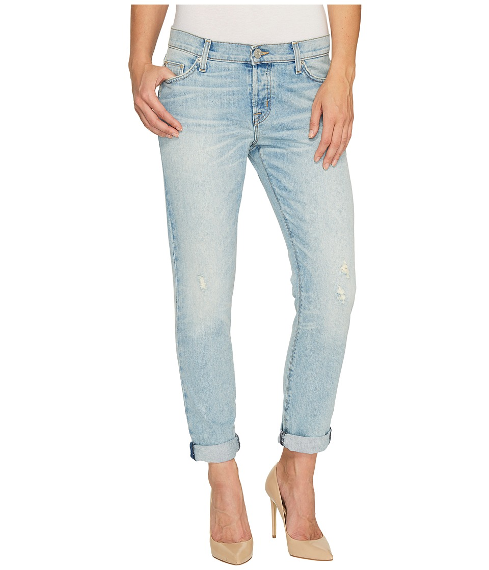 Hudson Riley Crop Relaxed Straight in Heavy Hitter (Heavy Hitter) Women