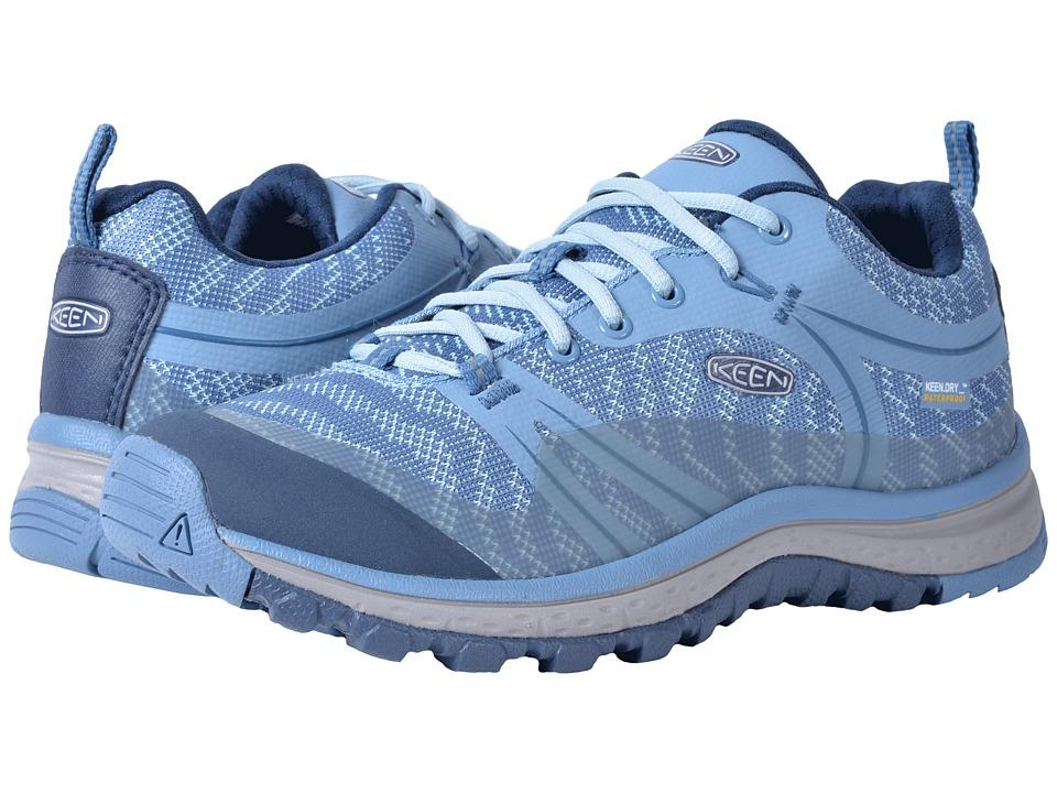 Keen Terradora Waterproof (Blue Shadow/Captains Blue) Women's Shoes