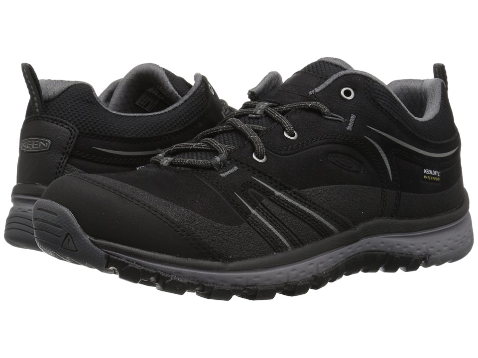Keen Terradora Leather Waterproof (Black/Steel Grey) Women