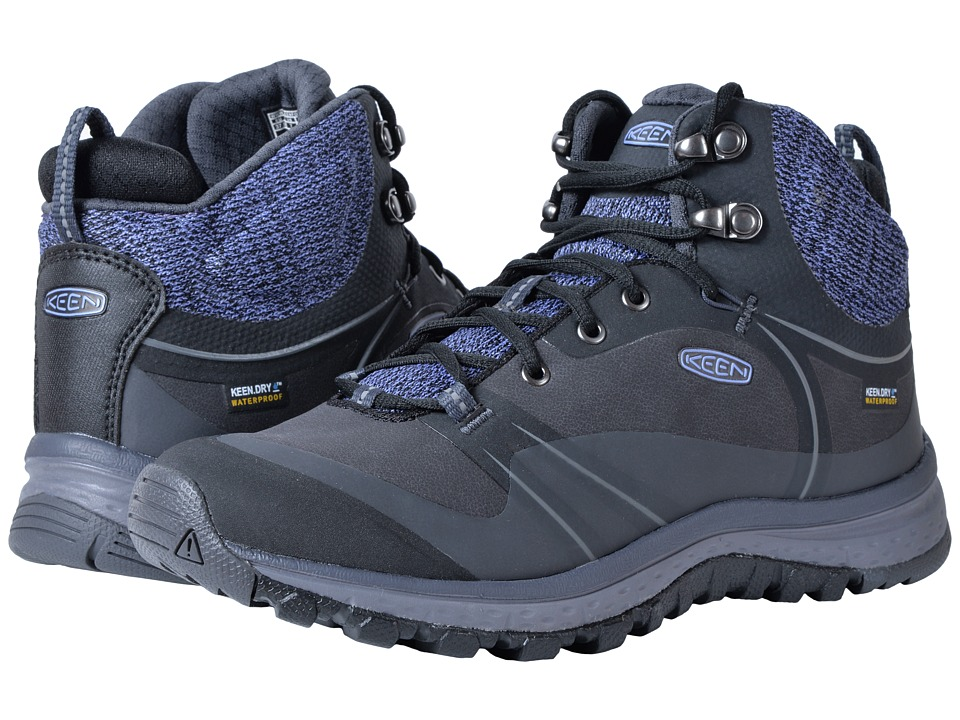 Keen Terradora Pulse Mid Waterproof (Black/Magnet) Women