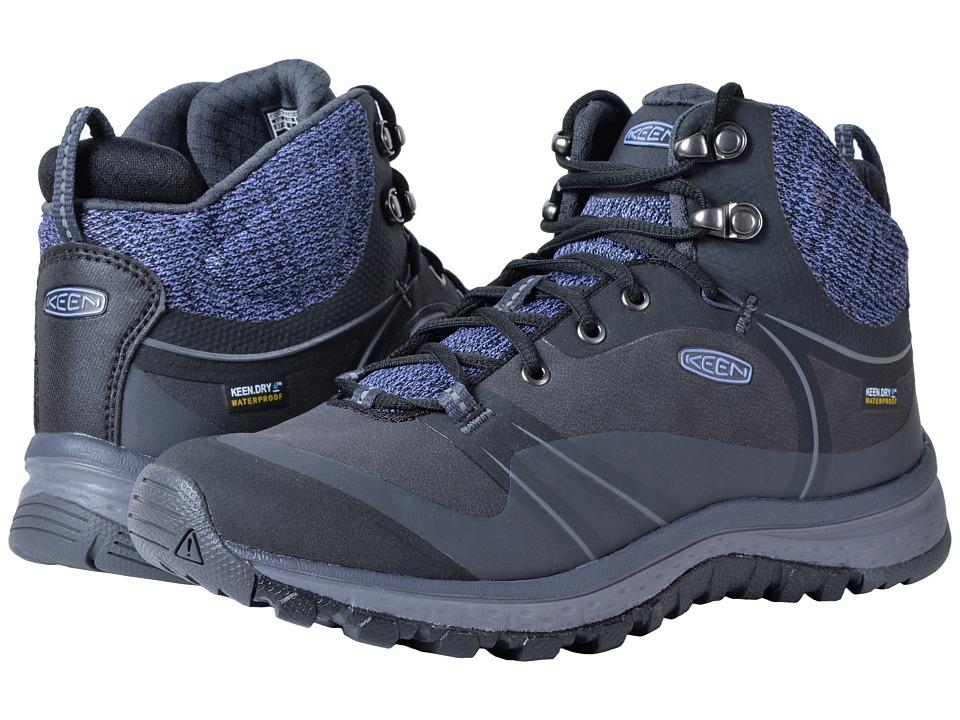 Keen Terradora Pulse Mid Waterproof (Black/Magnet) Women's Waterproof Boots