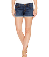 Hudson - Asha Mid-Rise Cuffed Five-Pocket Shorts in Patrol Unit 2
