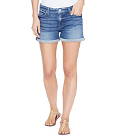 Hudson - Asha Mid-Rise Cuffed Five-Pocket Shorts in Reigning