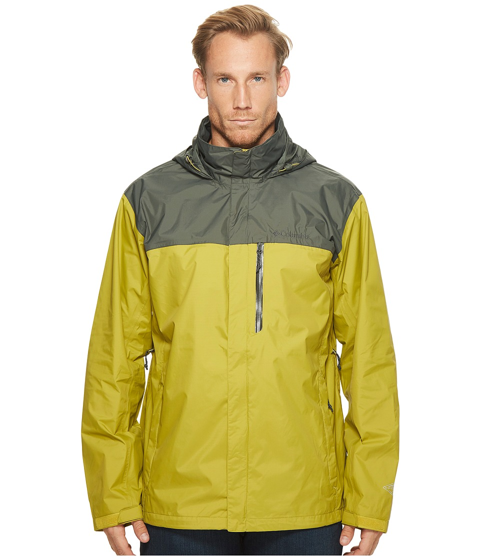 Columbia Big Tall Pouration Jacket (Peppercorn/Gravel) Men