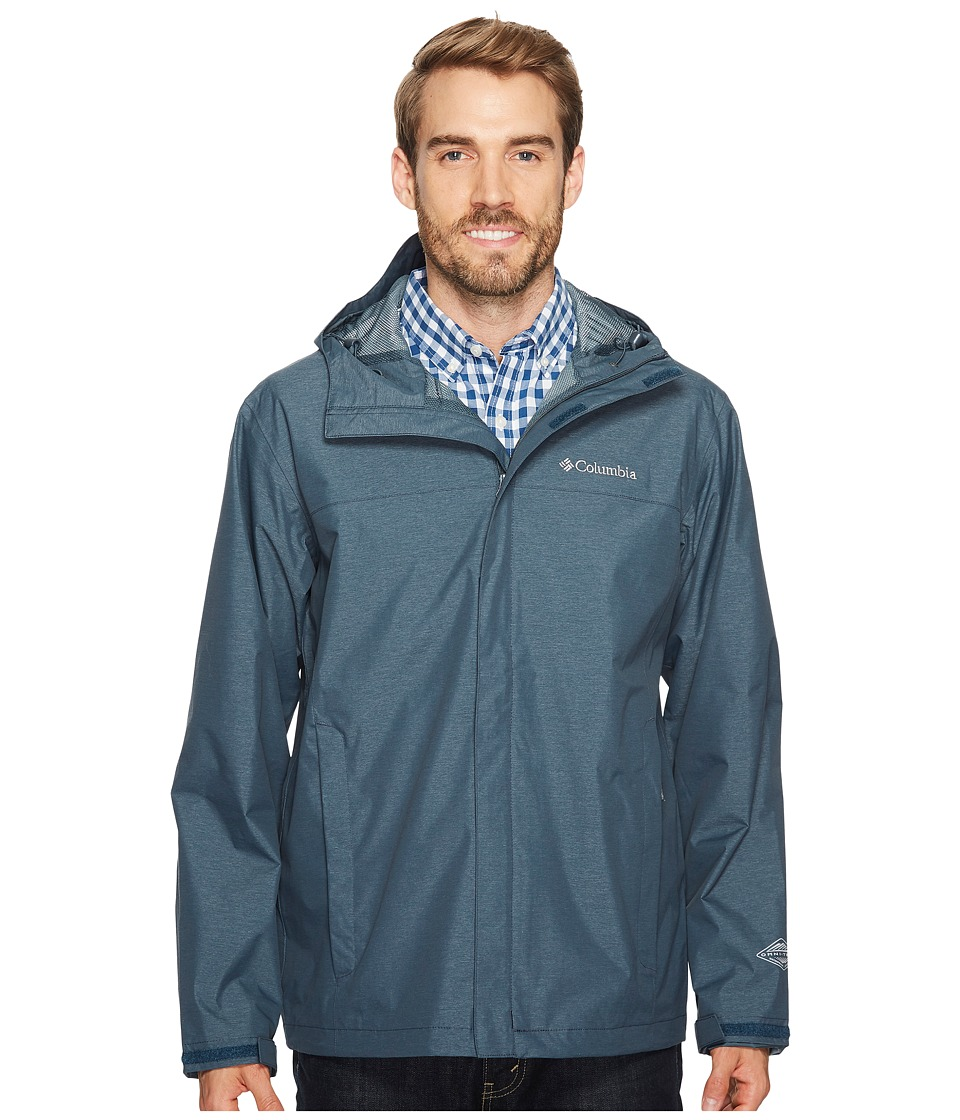 Columbia Diablo Creek Rain Jacket (Mystery) Men