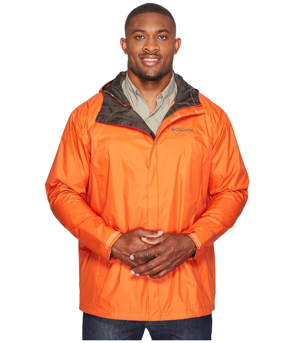 Columbia Big Tall Watertighttm II Jacket (Hot Pepper/Buffalo) Men
