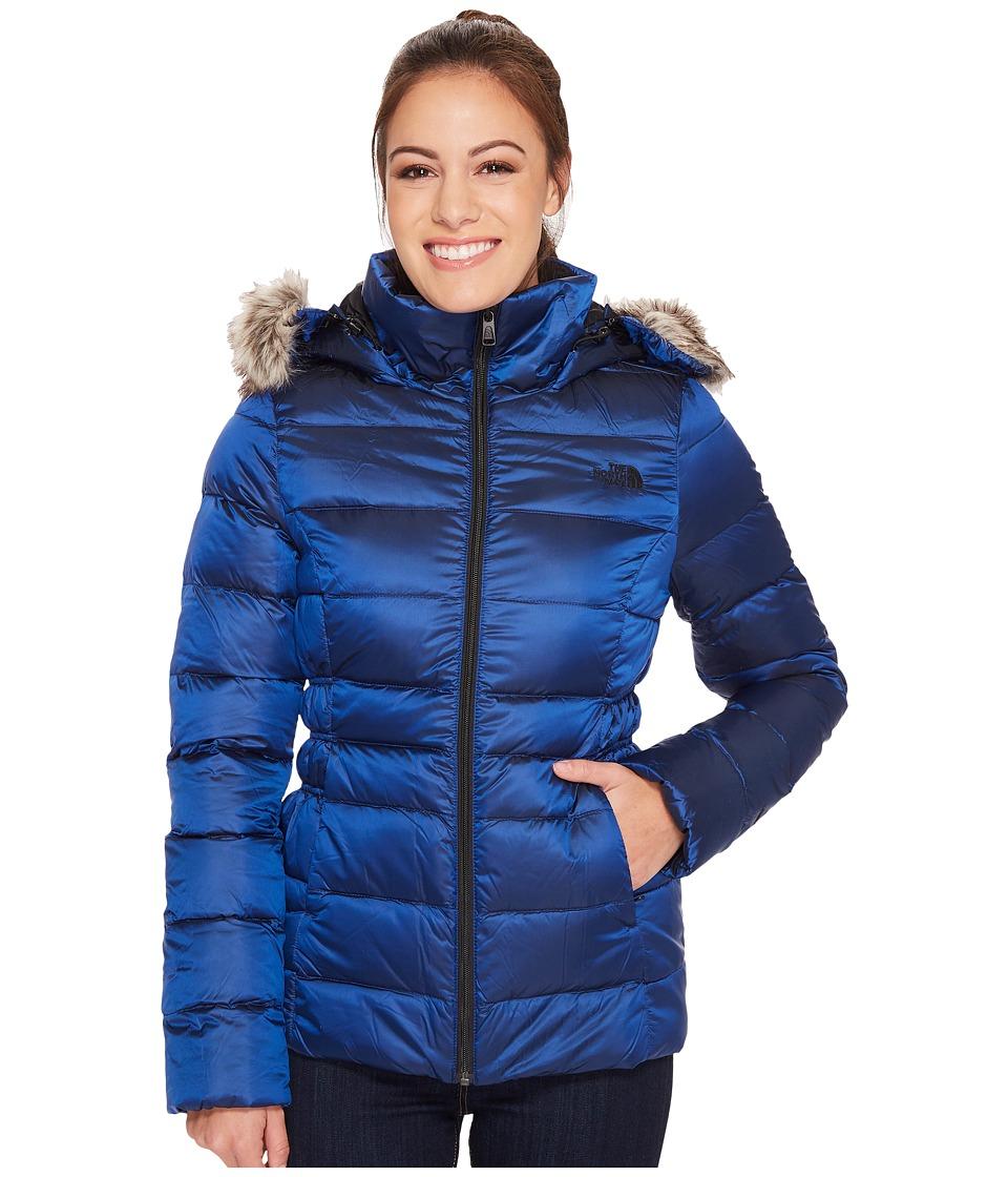 North Face Gotham Jacket II (Brit Blue) Women's Coat