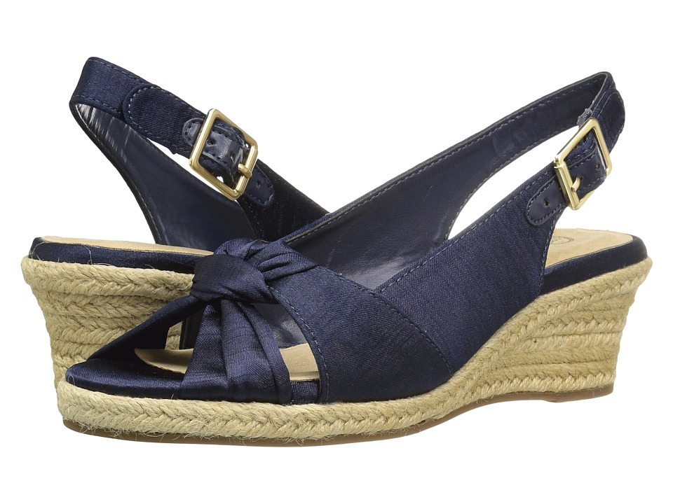 Bella-Vita - Seraphina II (Navy Silk) Womens Shoes