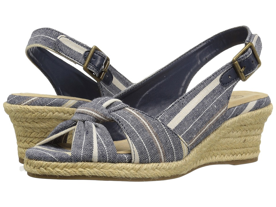 Bella-Vita Seraphina II (Navy Multi Stripe) Women's Shoes