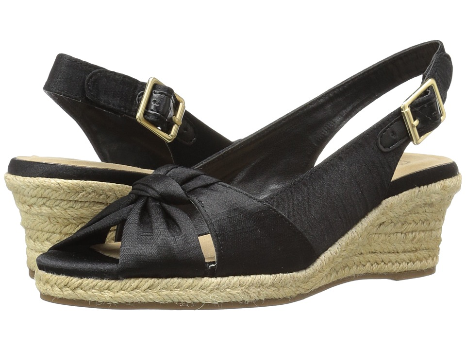 Bella-Vita Seraphina II (Black Silk) Women's Shoes