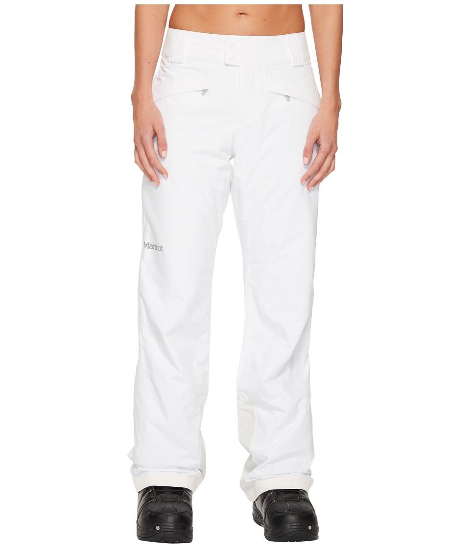 Marmot Radiance Pants (White) Women's Outerwear