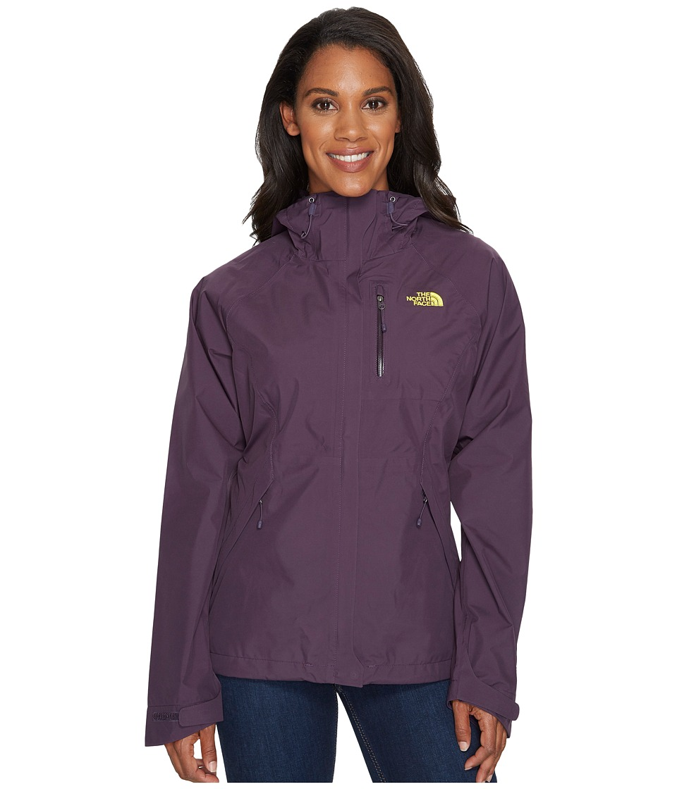 The North Face - Dryzzle Jacket (Dark Eggplant Purple) Womens Coat