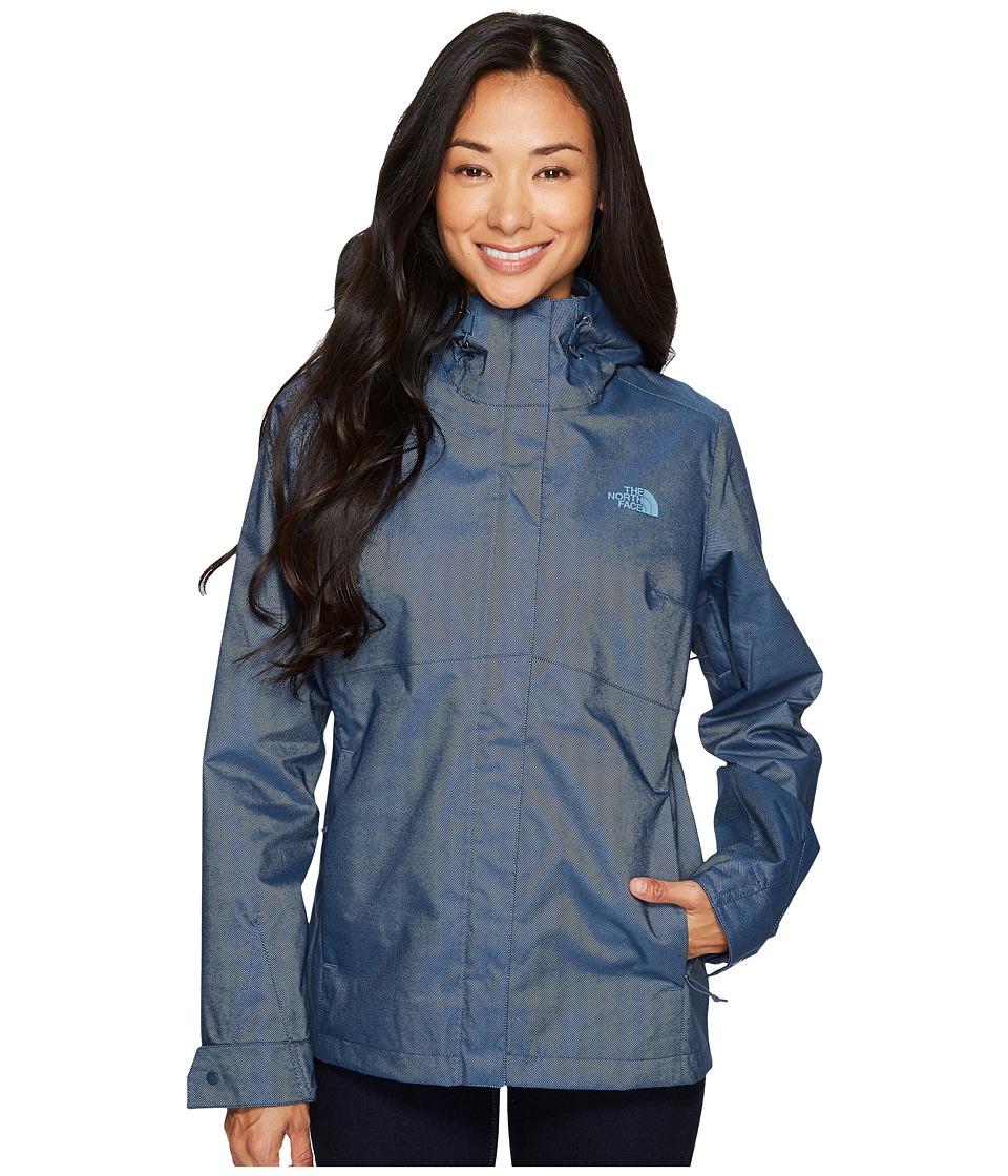 The North Face Berrien Jacket (Ink Blue Denim) Women