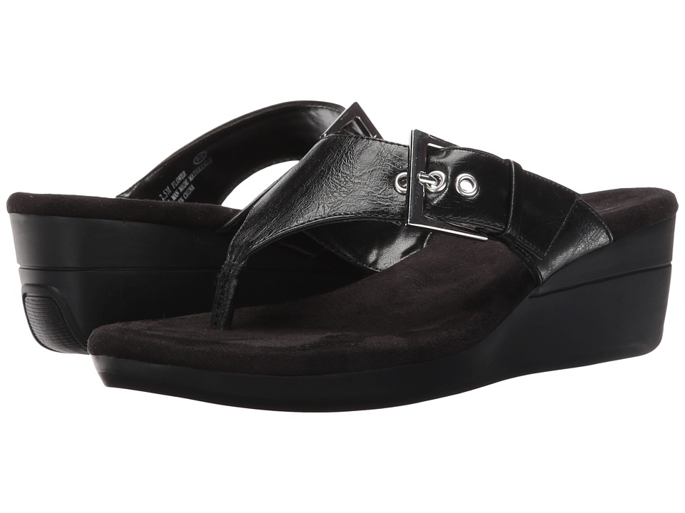 Aerosoles Flower (Black) Sandals