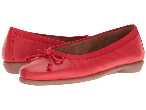 Aerosoles Fast Bet - Red Leather