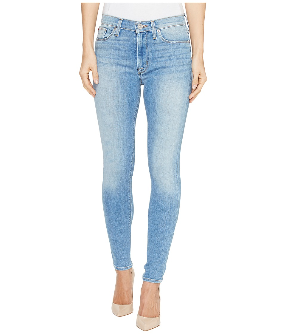 Hudson Barbara High Waist Super Skinny Ankle Five-Pocket Jeans in Reality (Reality) Women