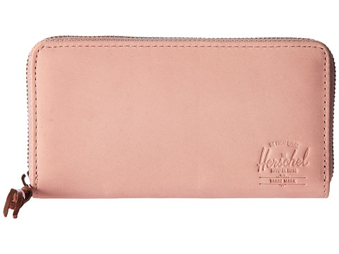 Herschel Supply Co. Thomas Leather (Update) RFID - Ash Rose Leather