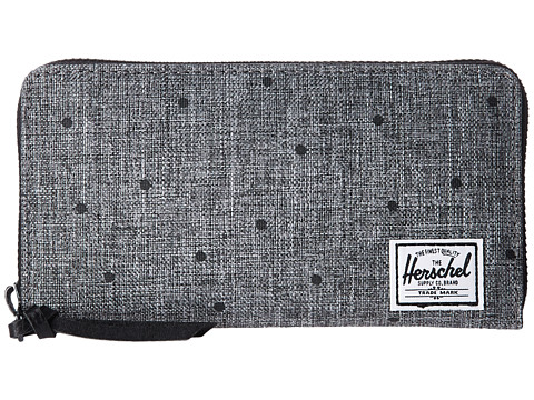 Herschel Supply Co. Thomas RFID - Scattered Raven Crosshatch