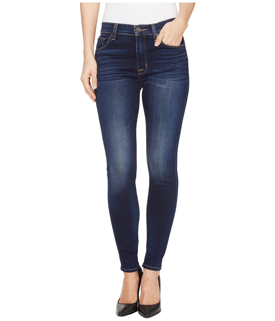 Hudson - Barbara High Waist Super Skinny Ankle Five-Pocket Jeans in Recruit 2