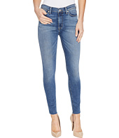 Hudson - Barbara High Waist Ankle Raw Hem Super Skinny Five-Pocket Jeans in Traverse
