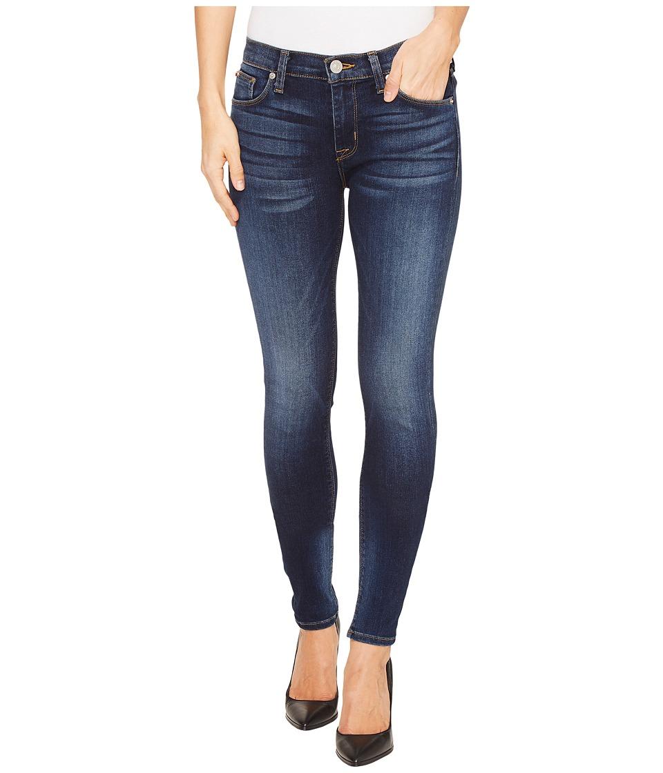 Hudson Nico Mid-Rise Super Skinny Five-Pocket Jeans in Blue Gold (Blue Gold) Women