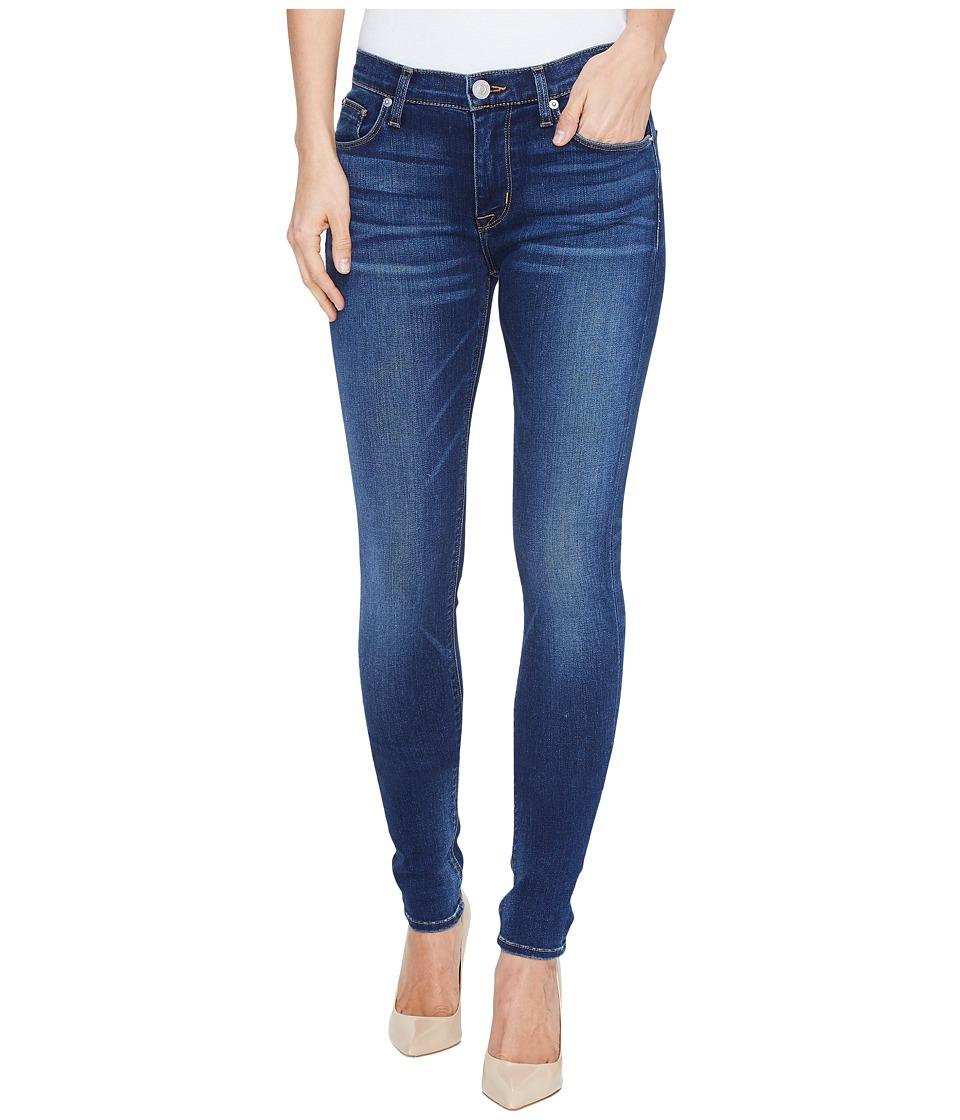 Hudson Nico Mid-Rise Supermodel Skinny Five-Pocket Jeans in Blue Gold (Blue Gold) Women