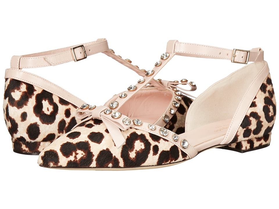 Kate Spade New York Becca (Blush/Brown Leopard Haircalf/Pale Pink Nappa) Women