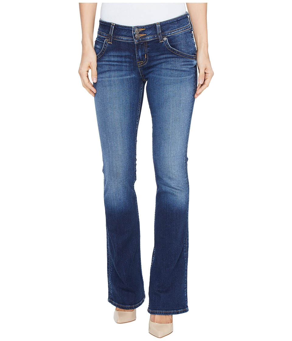 Hudson Petite Signature Bootcut Flap Pocket Jeans in Patrol Unit 2 (Patrol Unit 2) Women