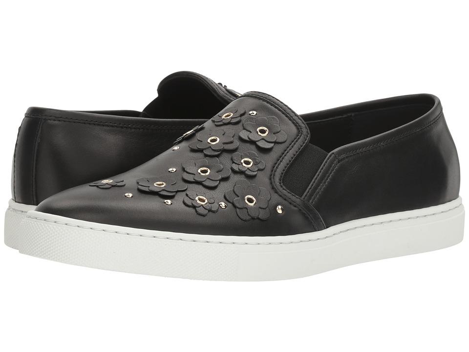 Furla Dafne Slip-On Sneaker T.15 (Onyx Vitello) Women