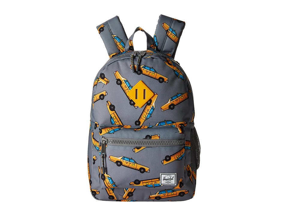 Herschel Supply Co. Heritage Youth (Big Kids) (Grey Taxi) Backpack Bags