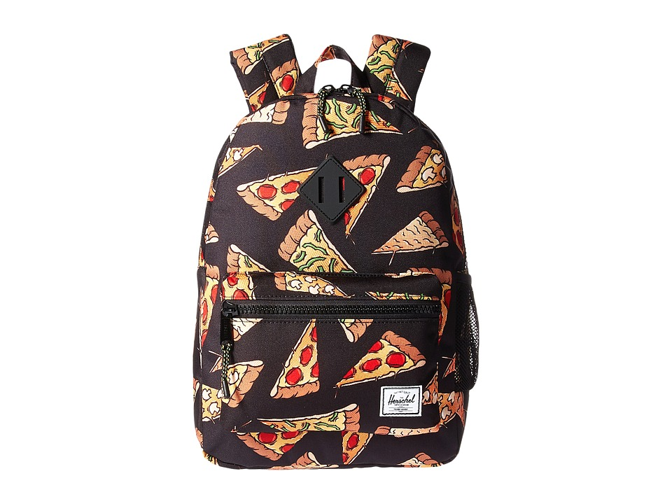 Herschel Supply Co. Heritage Youth (Big Kids) (Black Pizza) Backpack Bags