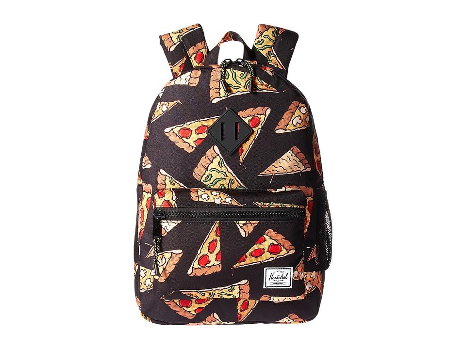 Herschel Supply Co. Heritage Youth (Big Kids) (Black Pizza) Backpack Bags